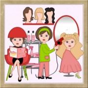 free salon cliparts