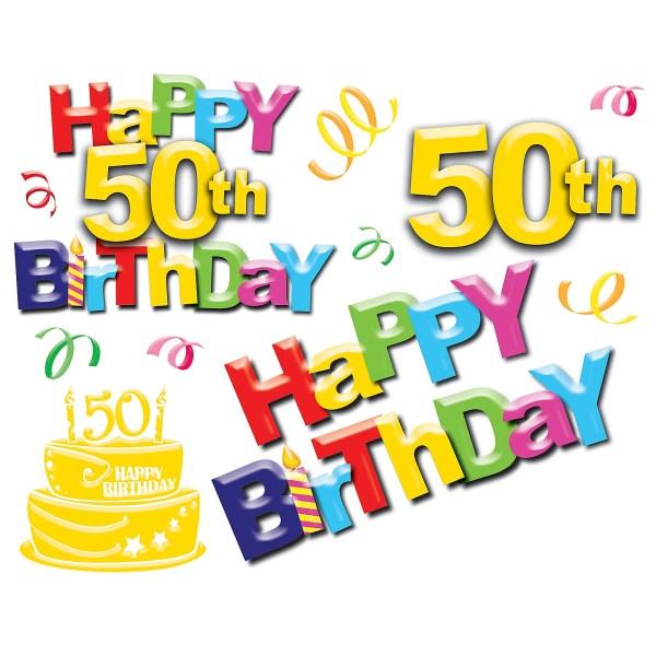 free 50 birthday cliparts