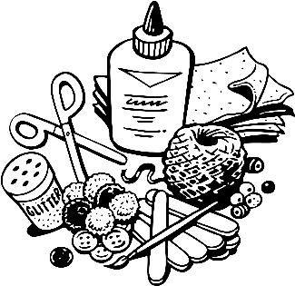 Craft Supplies Clip Art Clip Art Library