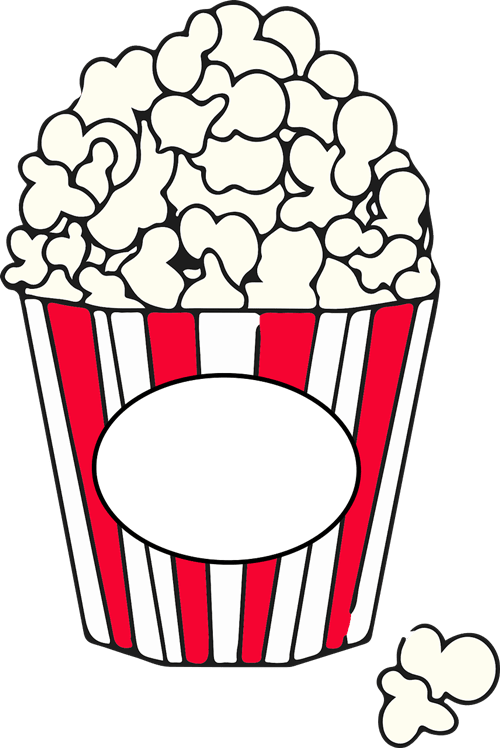 free popcorn cliparts
