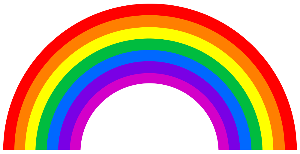 medium resolution of free rainbow clipart