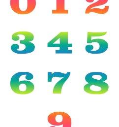 clip art numbers 1 50 clipart [ 1275 x 1650 Pixel ]