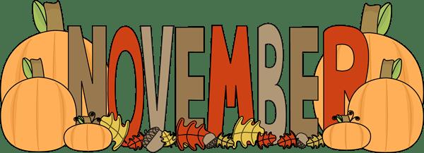 november clipart free