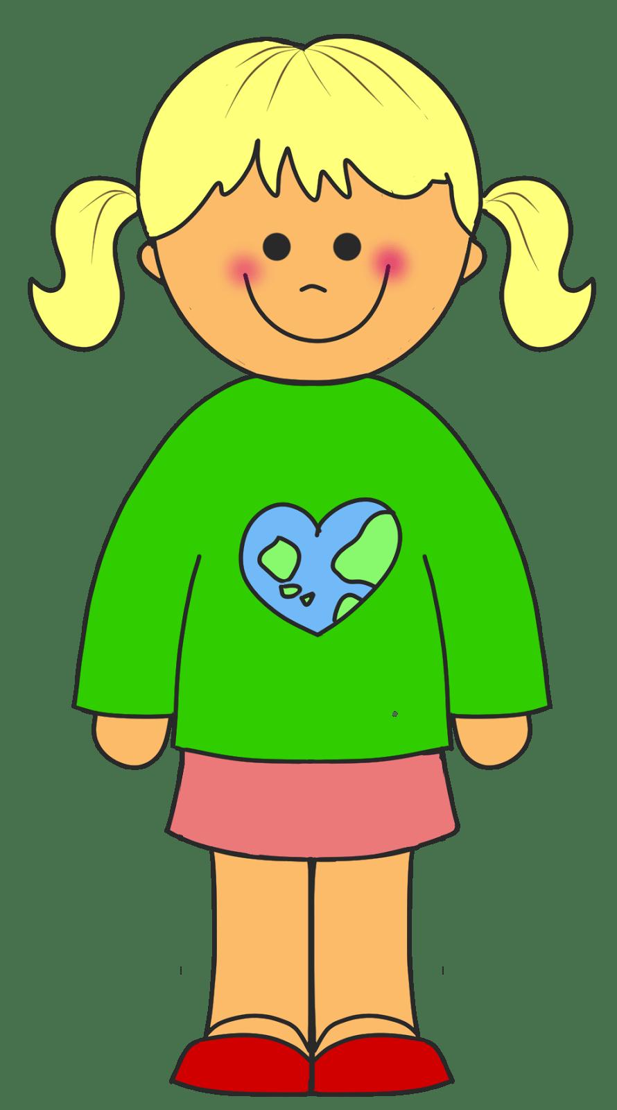 hight resolution of clip art of girl