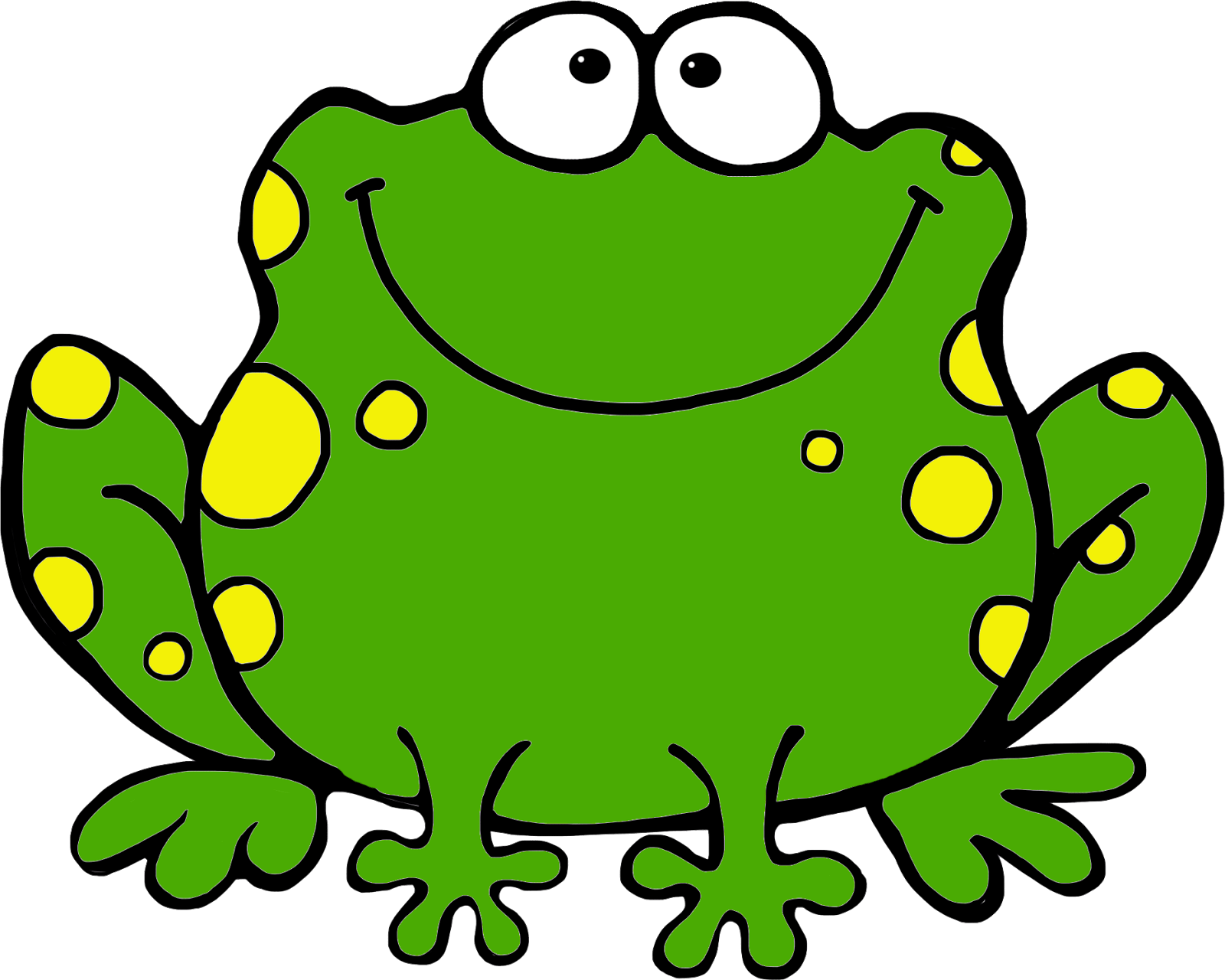 hight resolution of frog clip art for kids