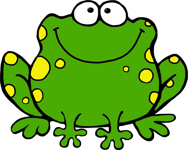 free frog cliparts
