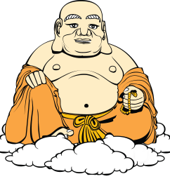 free to use public domain buddhist clip art [ 1379 x 1290 Pixel ]