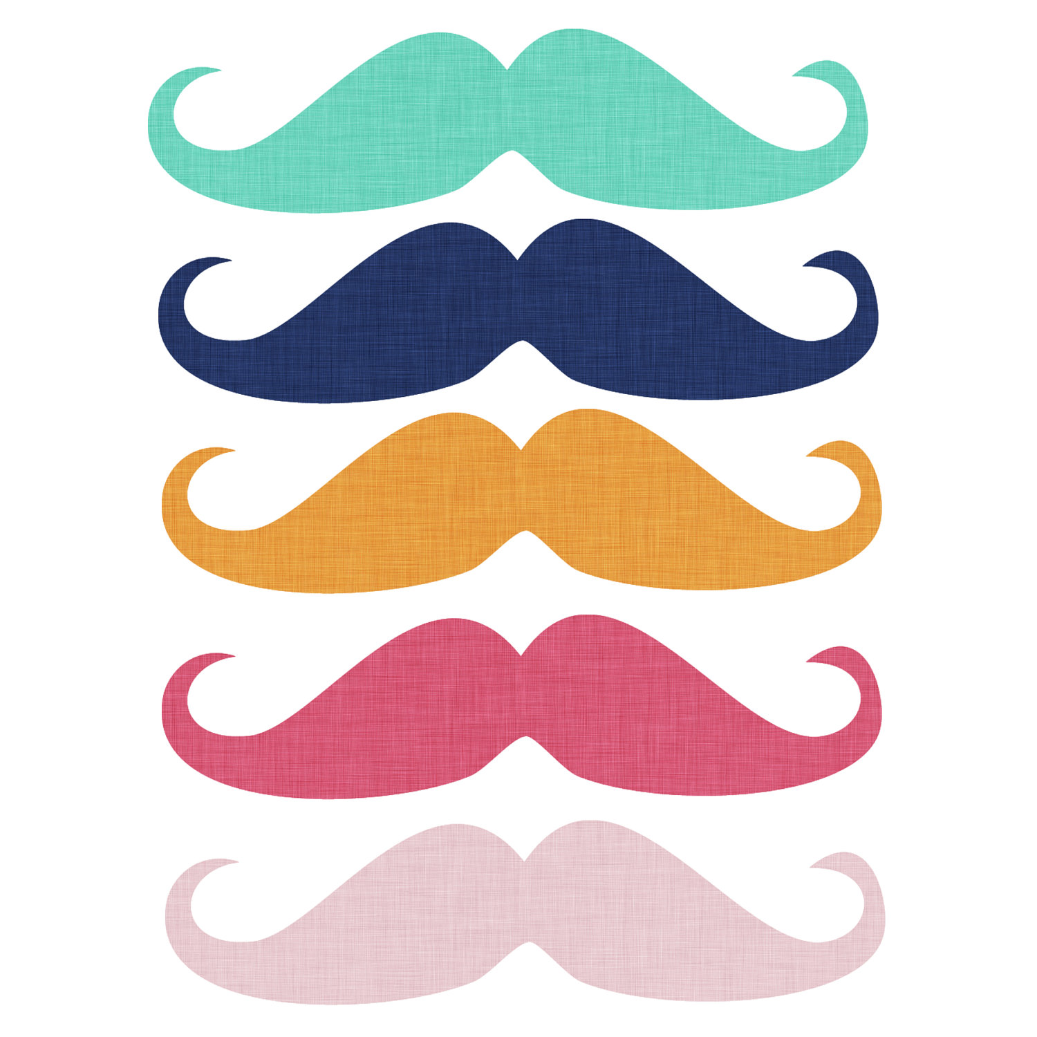 hight resolution of free mustache clipart