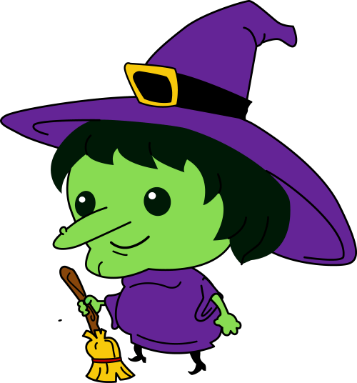 small resolution of witch clip art free