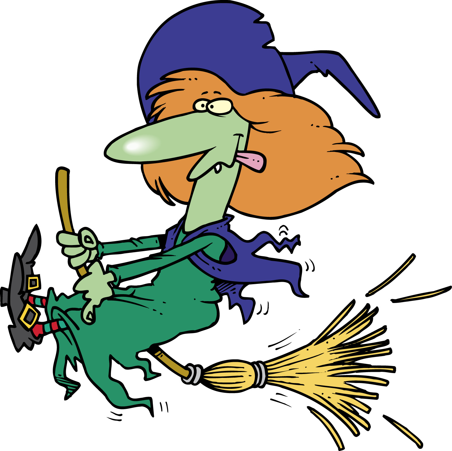 hight resolution of witch clip art