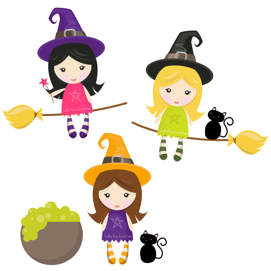medium resolution of witches clip art clipart image