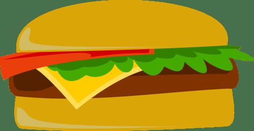 small resolution of hamburger cartoon burger clipart image