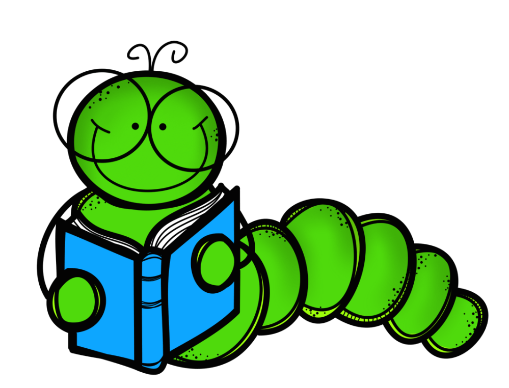 medium resolution of bookworm clipart