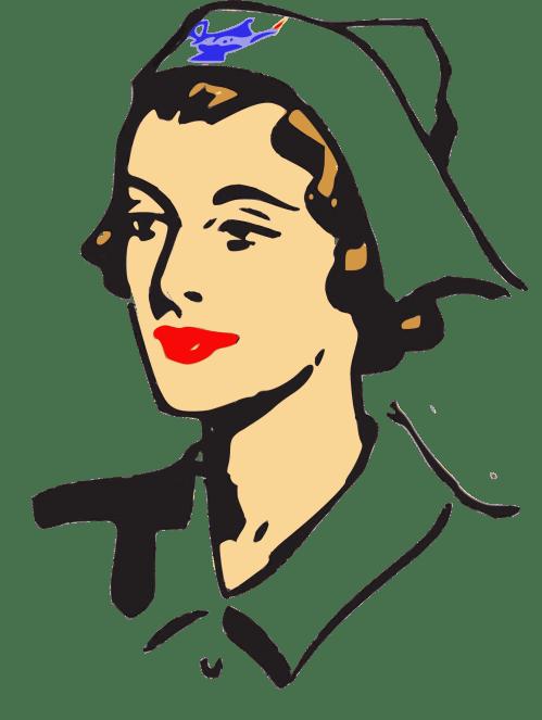 small resolution of nurse cap clip art