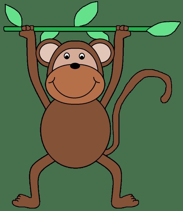 free monkey cliparts