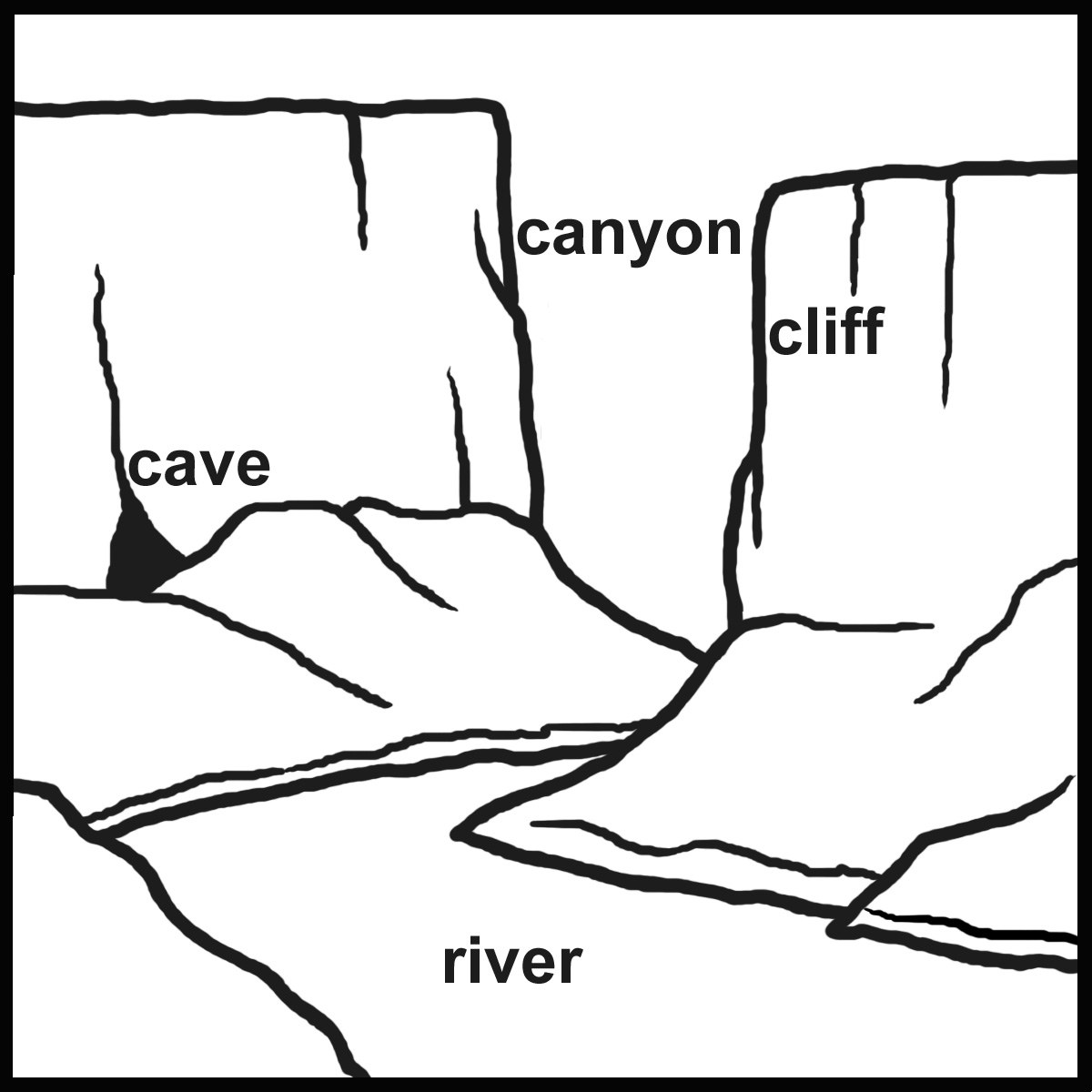 hight resolution of Free Landforms Cliparts