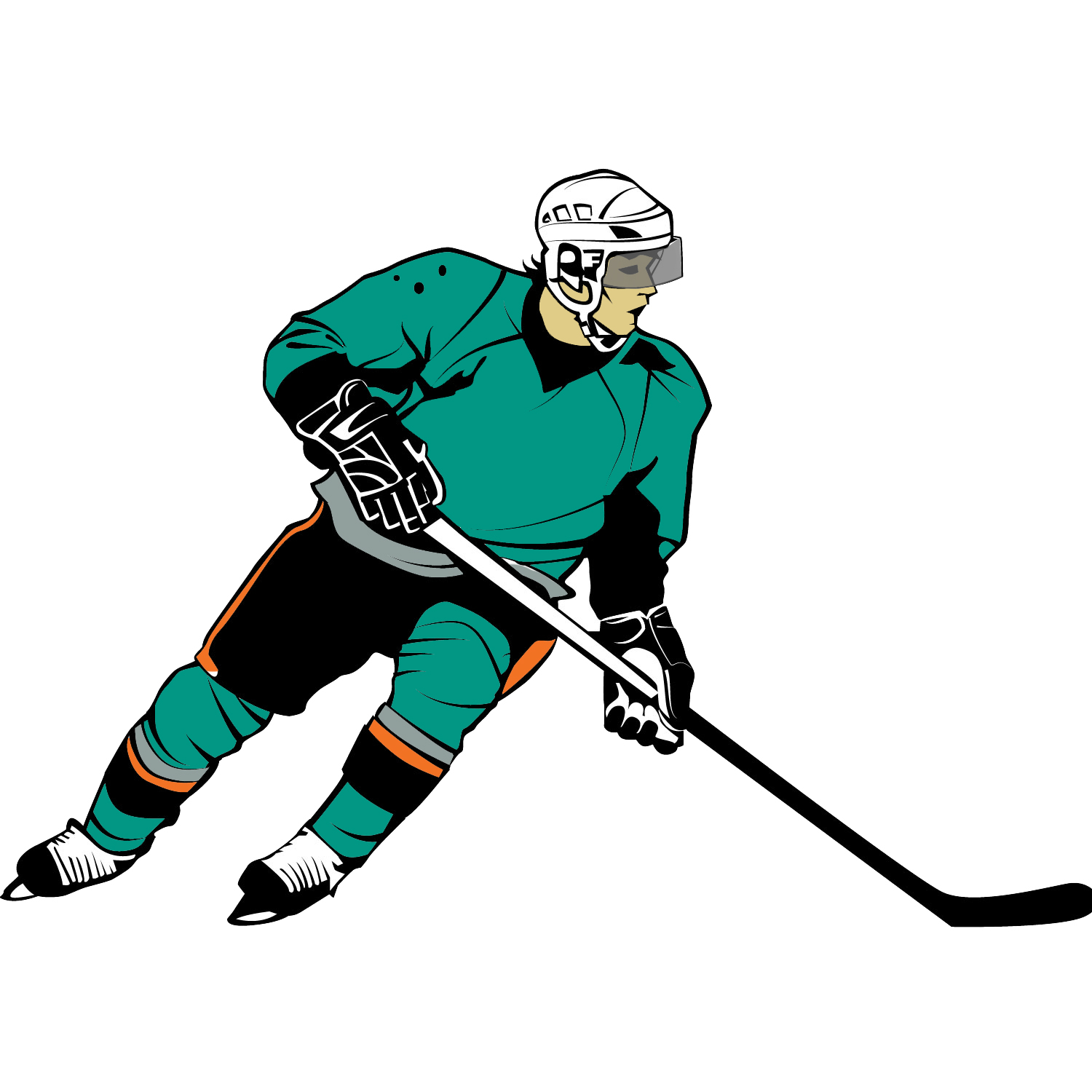 hight resolution of free hockey clipart clipart 2 image