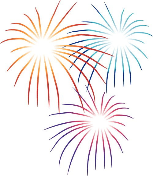 small resolution of fireworks clipart