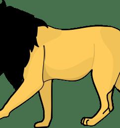 lion clipart lion animals clip art black and white [ 1331 x 916 Pixel ]