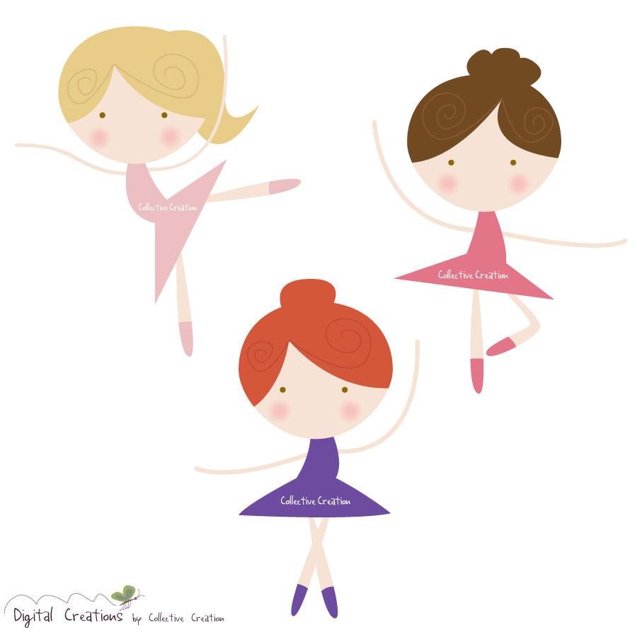 hight resolution of free ballerina clipart