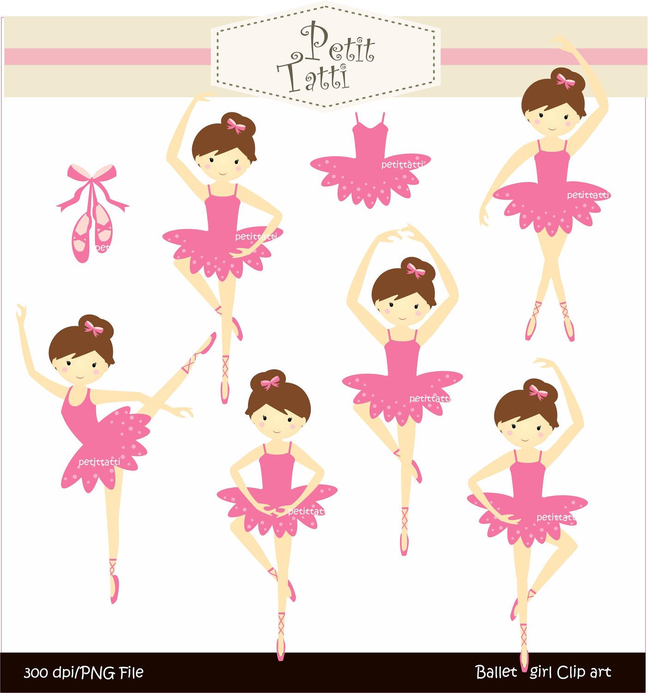 hight resolution of baby ballerina clipart