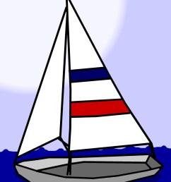 sailboat clip art free stock photo [ 1570 x 1920 Pixel ]