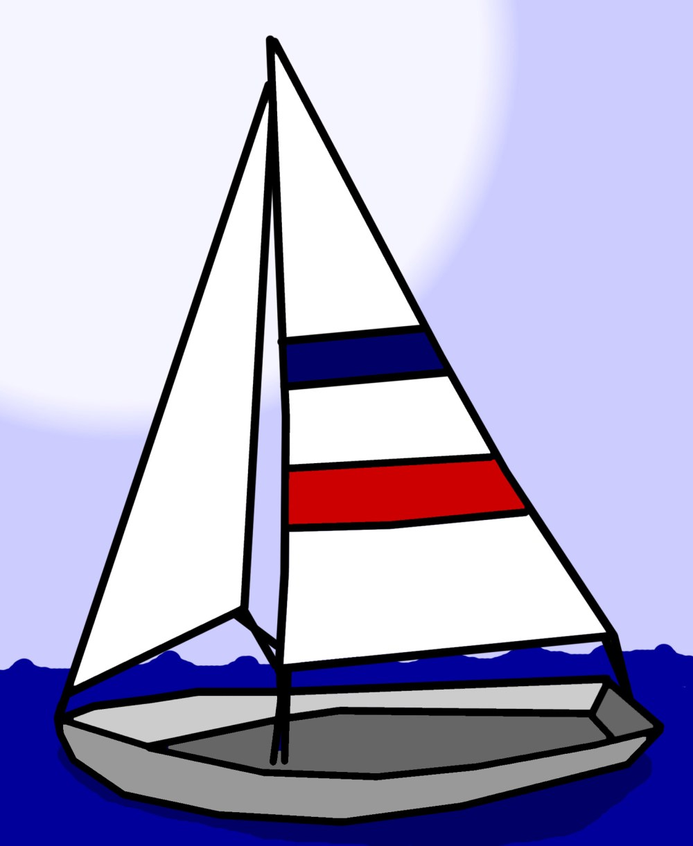 medium resolution of sailboat clip art free stock photo