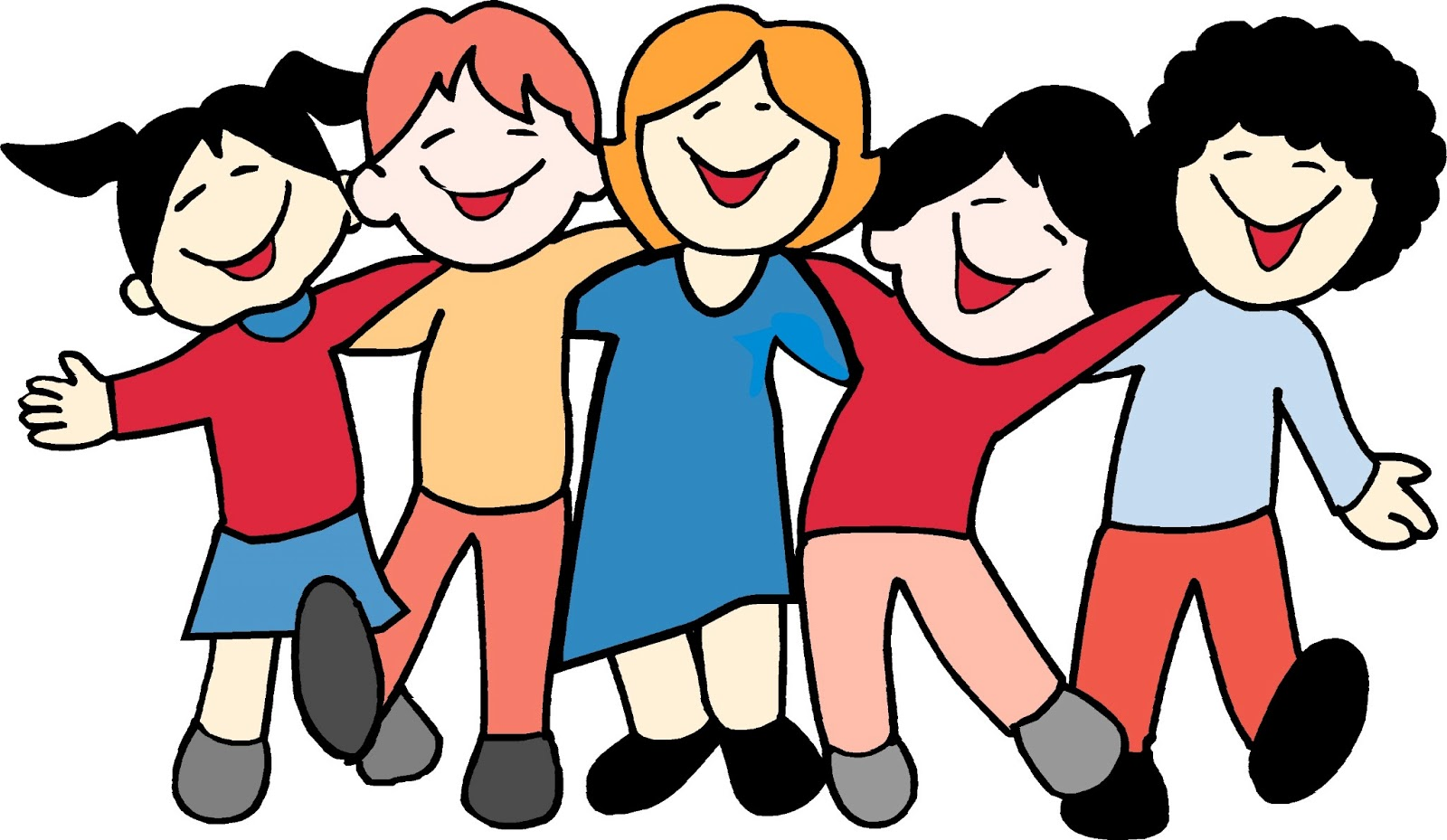 hight resolution of friendship clip art free