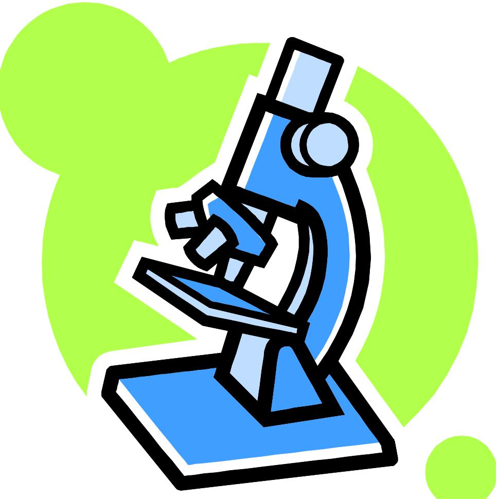 hight resolution of microscope clipart black and white