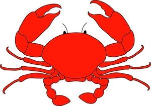Crab Clip Art Cartoon