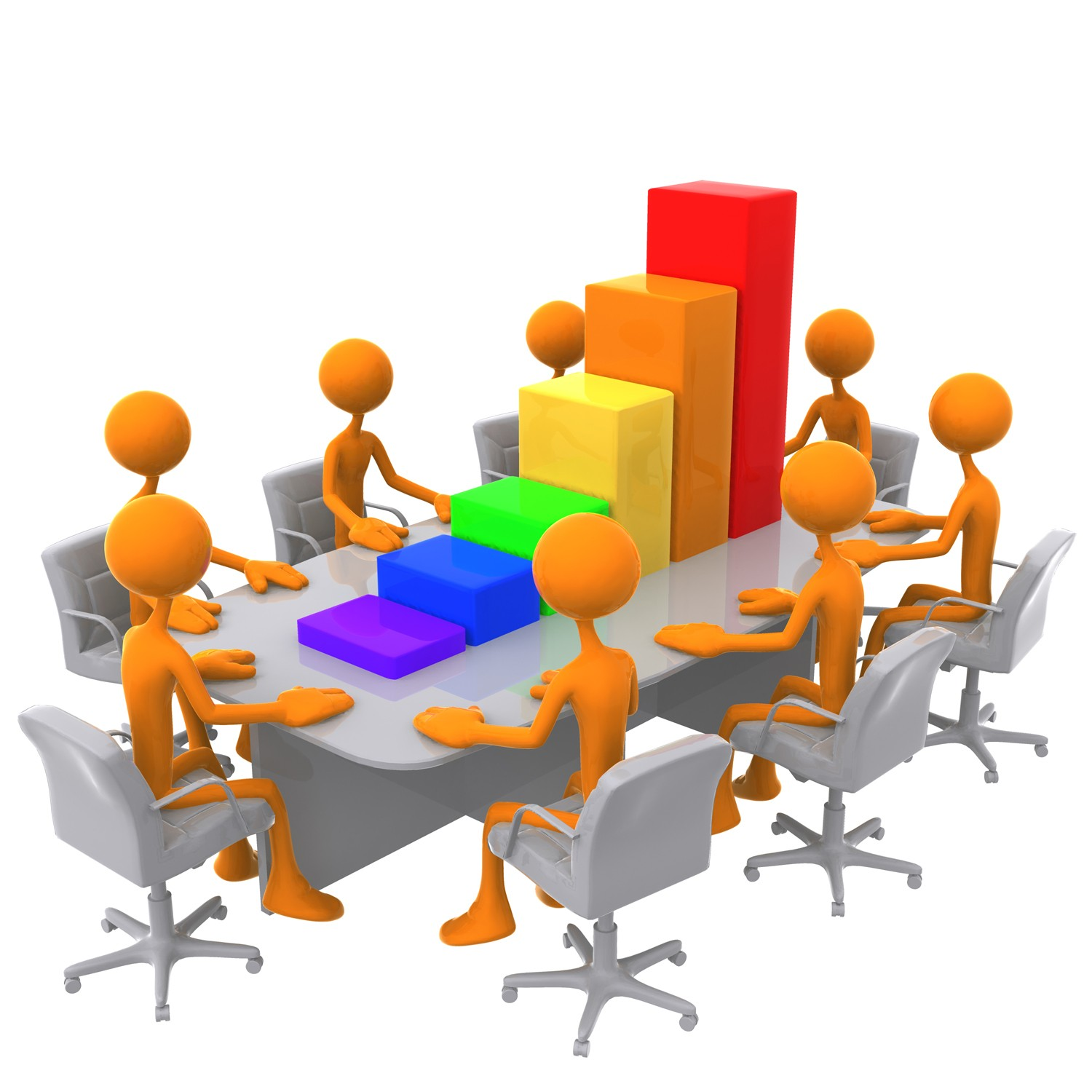hight resolution of meeting clipart
