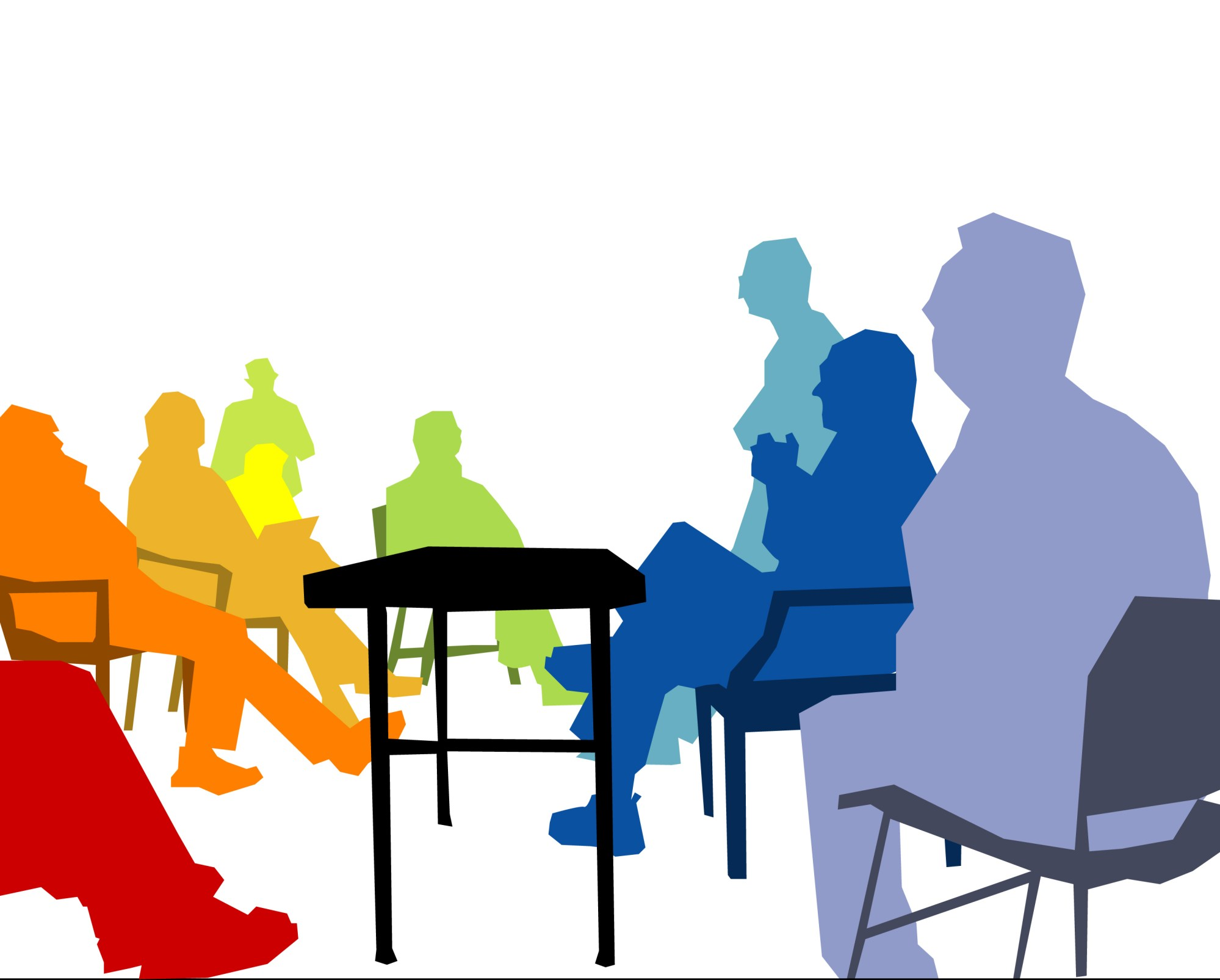 hight resolution of free meeting clipart