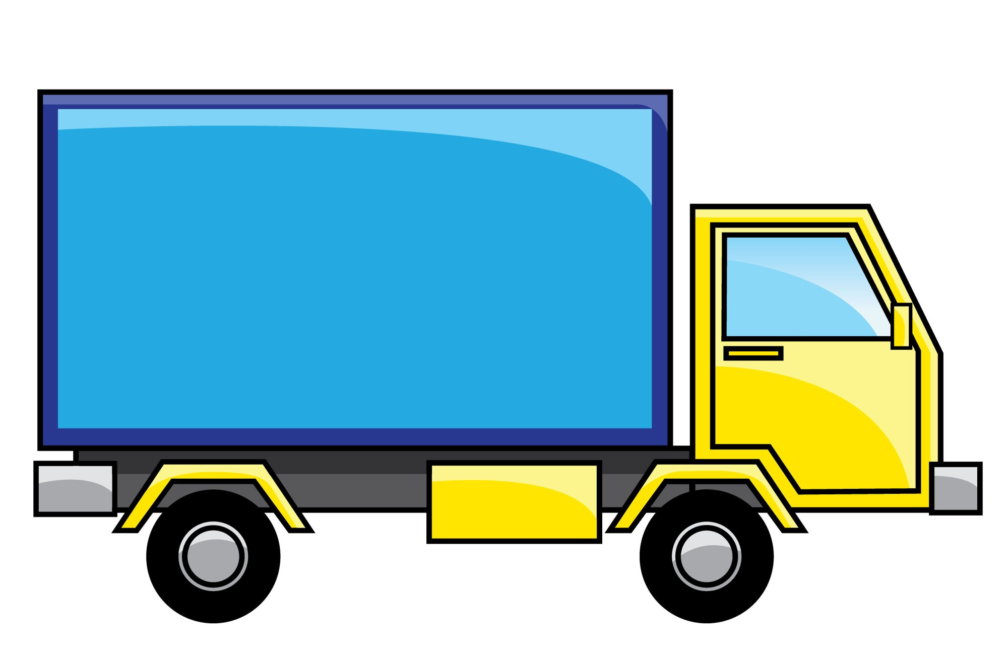 hight resolution of free clipart auto clipart delivery truck image