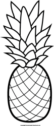 ananas clipart black and white Clip Art Library