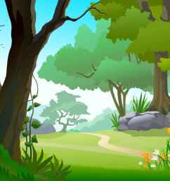 forest background clipart [ 1086 x 768 Pixel ]