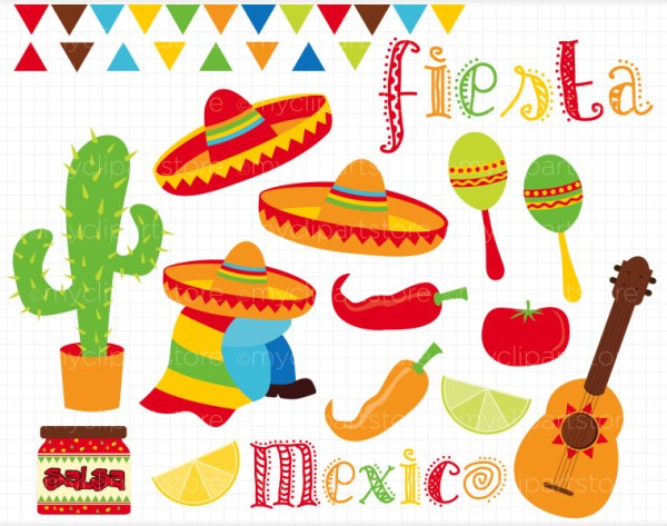 free fiesta cliparts