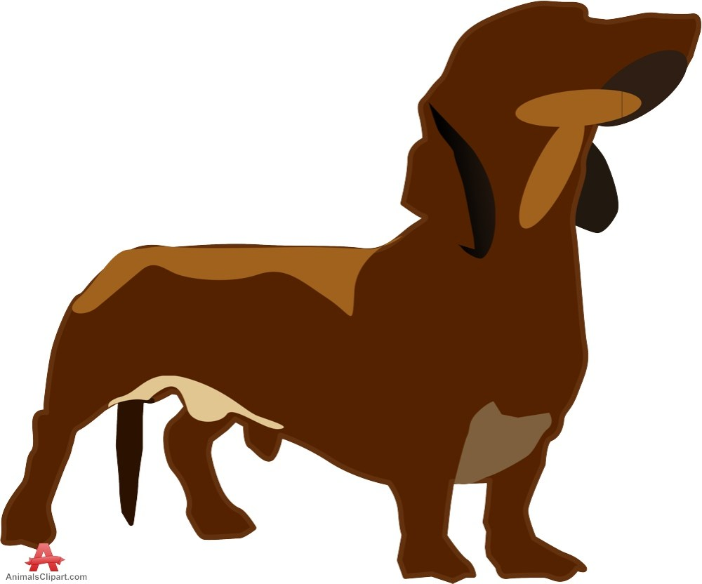 medium resolution of dachshund dog clipart
