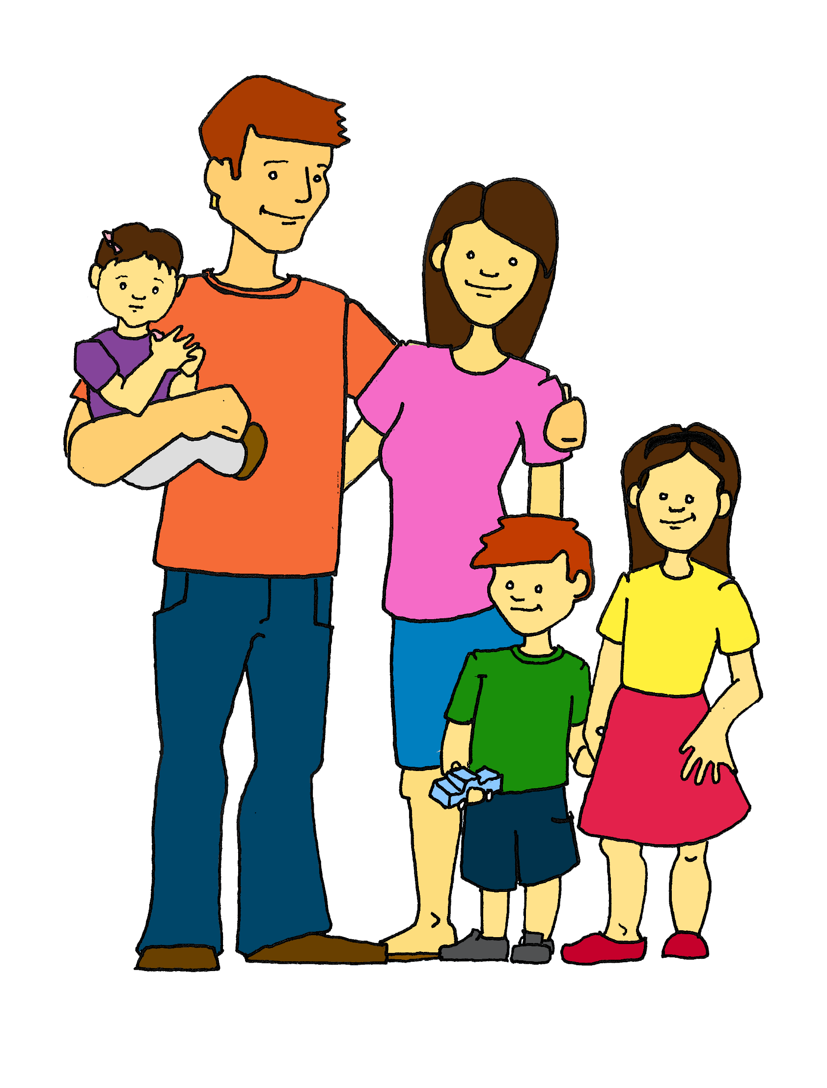 hight resolution of family clipart free clipart image 7
