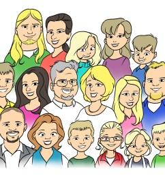 family picture clip art clipart [ 1600 x 1236 Pixel ]