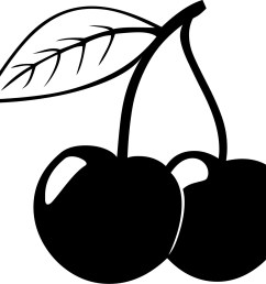 cherry clipart fruit clip art photo [ 1500 x 1380 Pixel ]