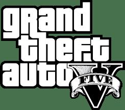 Grand Theft Auto V Logo Silhouette