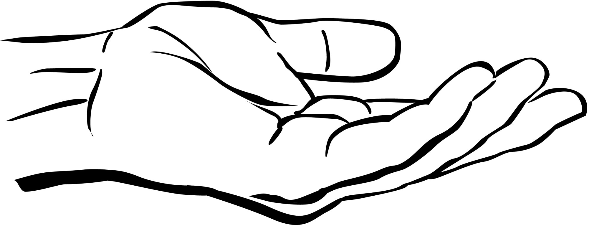 hight resolution of clipart hand