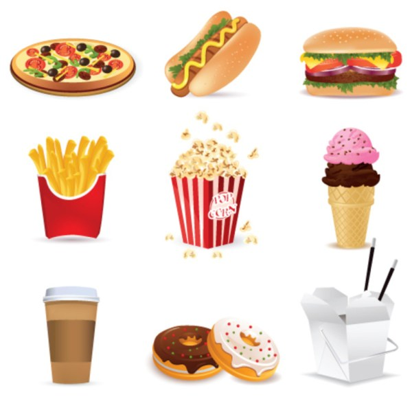 Free Junk-food Cliparts Clip Art