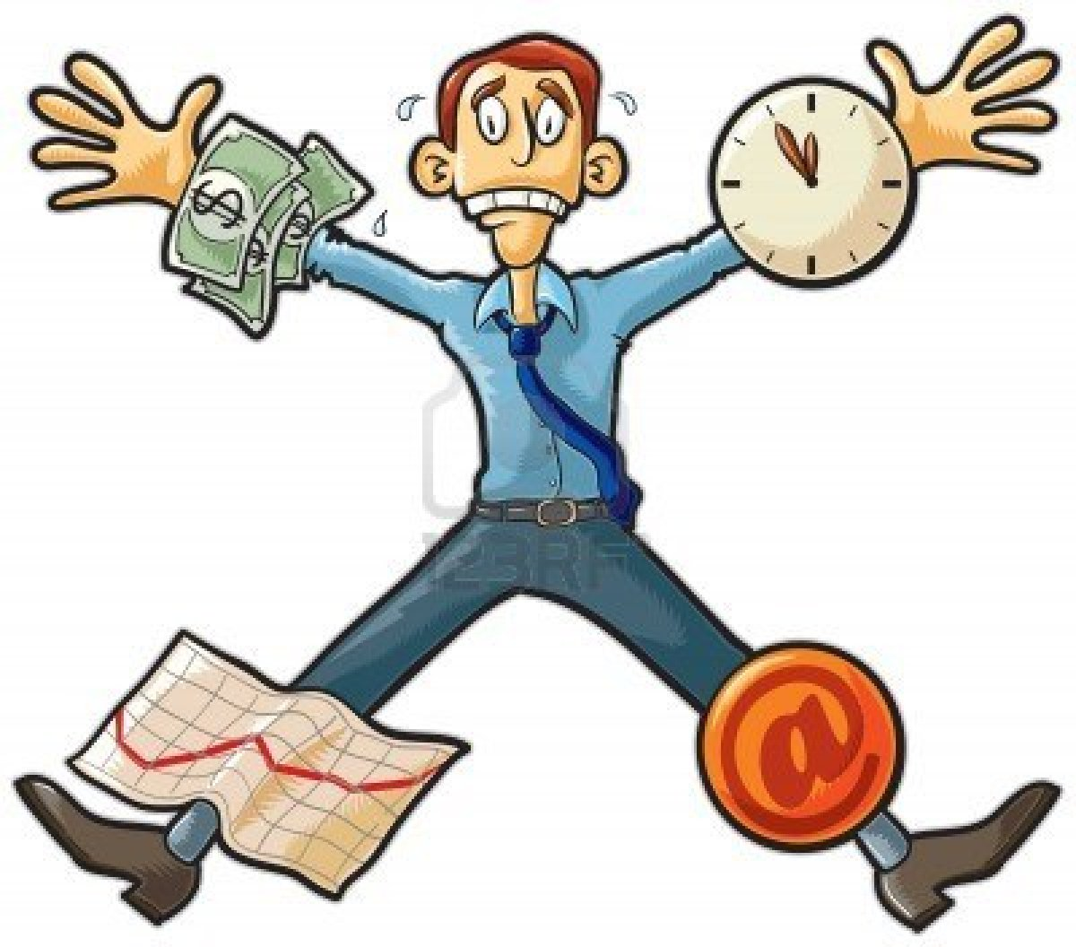 hight resolution of work stress free clipart