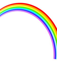 rainbow clipart clipart cliparts for you 4 [ 3319 x 2699 Pixel ]