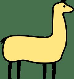 clipart llama image [ 2052 x 2400 Pixel ]