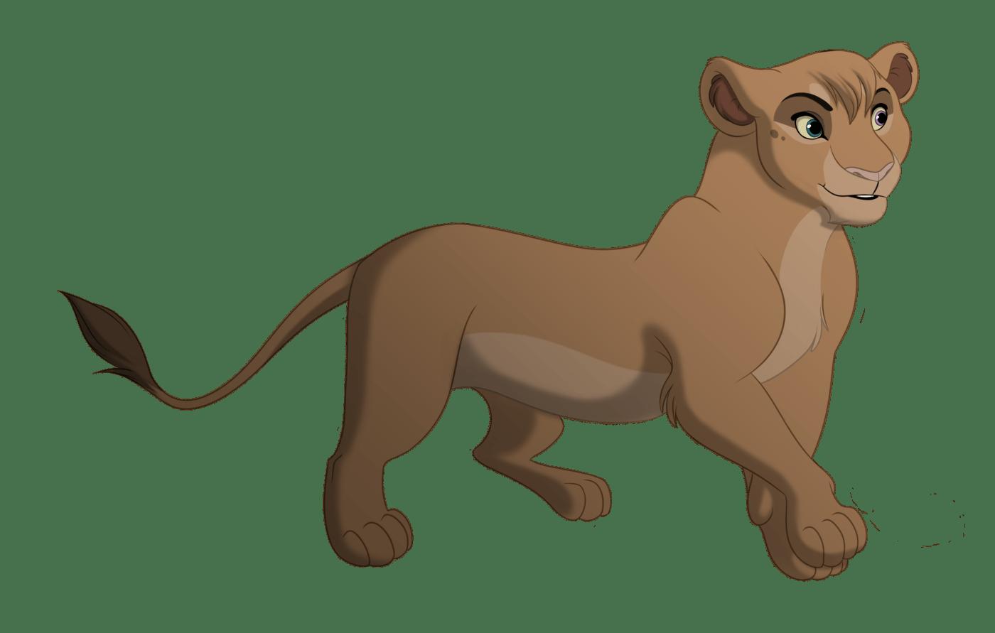 hight resolution of cartoon lioness