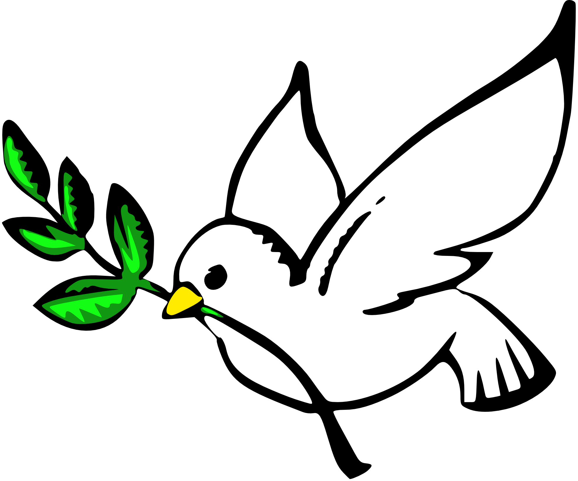 hight resolution of peace sign image free clip art