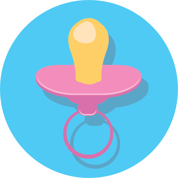 Free Pacifier Cliparts Clip Art Clipart Library
