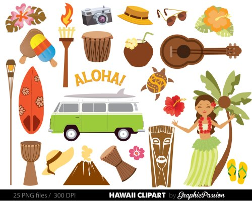 small resolution of popular items for luau clipart